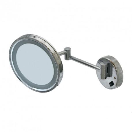 Pyörea peili valolla