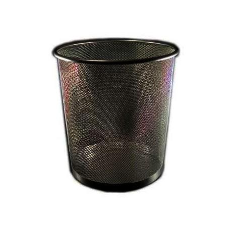 Roskakori metalli 14L, musta