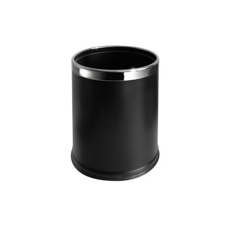 Tuplaseina roskakori 10L, musta