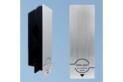 Käsisaippuan annostelija Senser, aluminium
