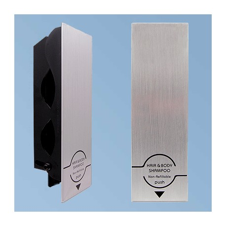Kokovartaloshampoon annostelija Senser aluminium