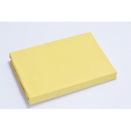 Aluslakana kumilla 90*200 cm, keltainen