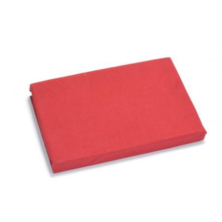 Aluslakana kumilla 90*200 cm, punainen