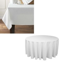 Pöytäliina 160 cm (pyöreä), 50%/50% puuvilla/polyesteri