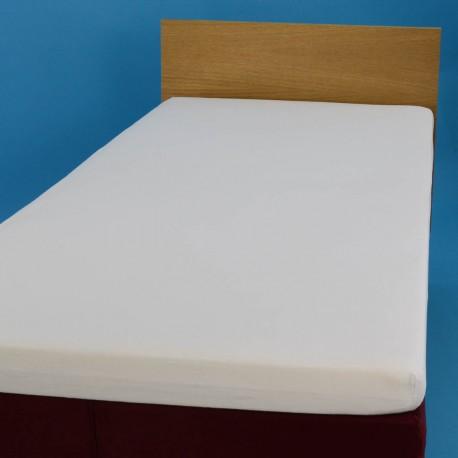 Aluslakana kumilla 90*200 cm, valkoinen