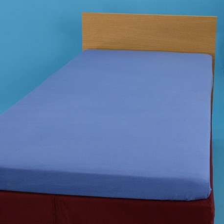 Aluslakana kumilla 90*200 cm, sininen
