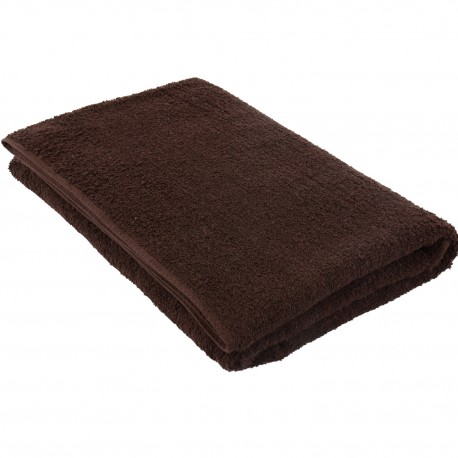 Pyyhe tummanruskea 75*150 cm