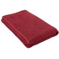 Pyyhe tummanpunainen 75*150 cm