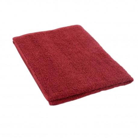 Pyyhe tummanpunainen  50*70 cm