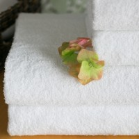 Pyyhe LUX 55*75 cm valkoinen, 550 g/m2