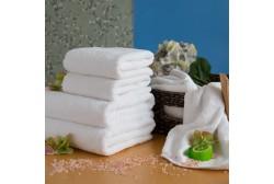 Pyyhe LUX 75*150 cm valkoinen, 600 g/m2
