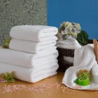 Pyyhe LUX 75*150 cm valkoinen, 550 g/m2