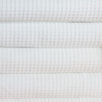 Vohveli pyyhe 70*140 cm valkoinen