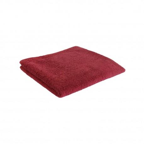 Pyyhe tummanpunainen 50*100 cm