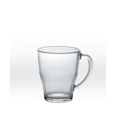 Läpinäkyvä muki 35 cl, karkaistu lasi