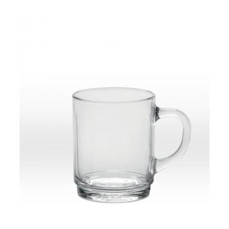 Läpinäkyvä muki 26 cl, karkaistu lasi