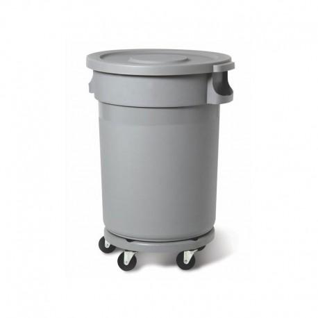 Muovisäiliö 80L, harmaa