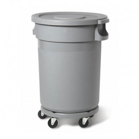 Muovisäiliö 120L, harmaa