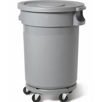 Muovisäiliö 168L, harmaa