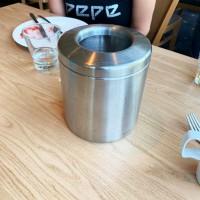 Pöytän roskakori 2,3L mattapintainen
