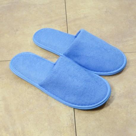 Froteetohveli sininen suljettu jalkaterä