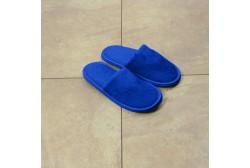 Sininen lasten veluuritohveli sulj. jalkaterä