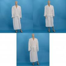 Valkoiset veluuri kylpytakit