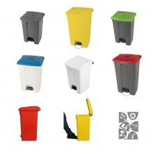 Muoviset jäteastiat polkimella 70L ja 90L