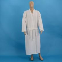 Valkoiset vohveli kylpytakit